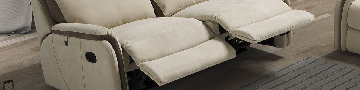 3 Seater Manual Recliner Sofas