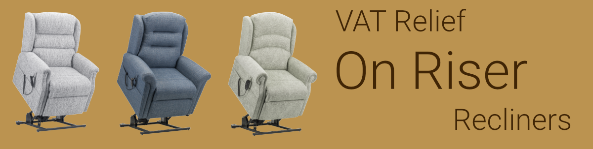 VAT relief on riser recliner chairs